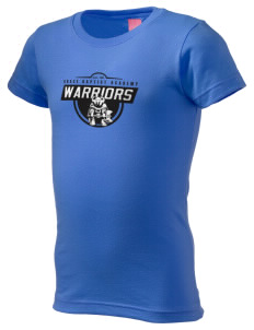 Grace Baptist Academy Warriors  Girl's Fine Jersey Longer Length T-Shirt