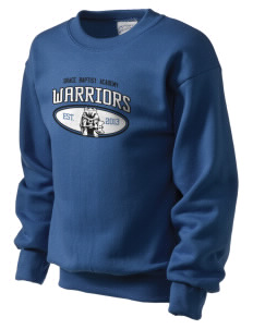 Grace Baptist Academy Warriors Kid's Crewneck Sweatshirt