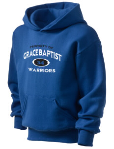 Grace Baptist Academy Warriors Kid's Hooded Sweatshirt