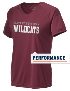 Calvary Lutheran School Wildcats Holloway Women's Zoom Performance T-Shirt