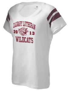 Calvary Lutheran School Wildcats Holloway Women's Shout Bi-Color T-Shirt
