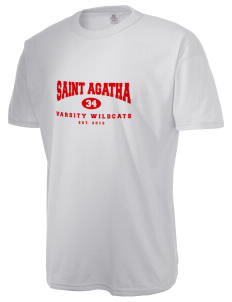Saint Agatha Catholic School Wildcats  Russell Men's NuBlend T-Shirt
