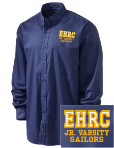 Edmonds Homeschool Resource Center Sailors Embroidered Men's Easy-Care Shirt
