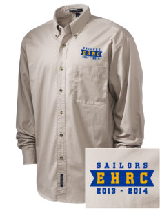 Edmonds Homeschool Resource Center Sailors Embroidered Men's Twill Shirt