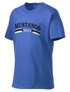 Rainier Christian Middle School Mustangs Kid's Lightweight T-Shirt