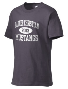 Rainier Christian Middle School Mustangs Kid's Essential T-Shirt