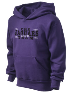 Carrboro High School Jaguars Kid's Hooded Sweatshirt