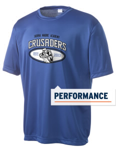 Sierra Madre Academy Crusaders Men's Competitor Performance T-Shirt