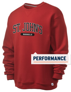 St. John's Elementary School Rebels  Russell Men's Dri-Power Crewneck Sweatshirt