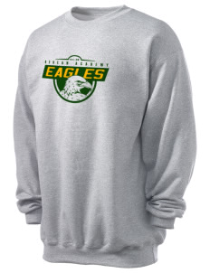 Berean Academy Eagles Men's 7.8 oz Lightweight Crewneck Sweatshirt