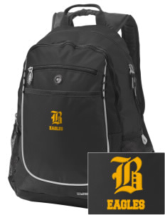Berean Academy Eagles Embroidered OGIO Carbon Backpack