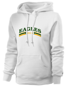 Berean Academy Eagles Russell Women's Pro Cotton Fleece Hooded Sweatshirt