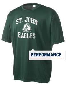 Saint John Lutheran School Eagles Men's Competitor Performance T-Shirt