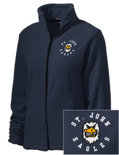 Saint John Lutheran School Eagles Embroidered Women's Wintercept Fleece Full-Zip Jacket