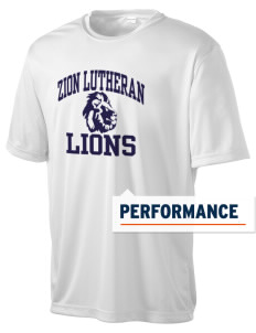 Zion Lutheran School Lions Men's Competitor Performance T-Shirt