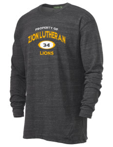Zion Lutheran School Lions Alternative Men's 4.4 oz. Long-Sleeve T-Shirt