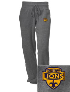 Zion Lutheran School Lions Embroidered Alternative Women's Unisex 6.4 oz. Costanza Gym Pant