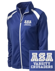 Armenian Sisters Academy Crusaders Embroidered Women's Tricot Track Jacket