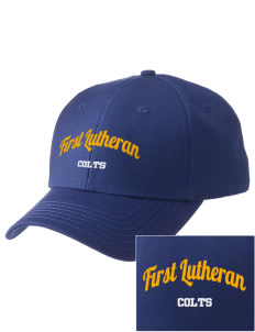First Lutheran School Colts  Embroidered New Era Adjustable Structured Cap