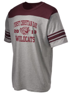 First Christian Day School Wildcats Holloway Men's Champ T-Shirt