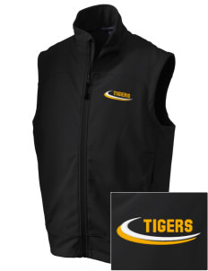 Thomas Jefferson Elder High School Tigers Embroidered Men's Glacier Soft Shell Vest
