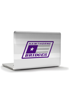 "Hawthorne Academy Bridges Apple MacBook Pro 15.4"" Skin"