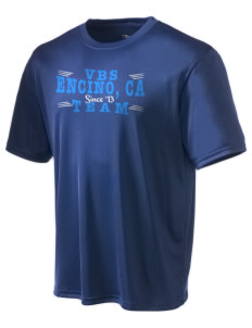 Valley Beth Shalom Day School Encino, CA Champion Men's Wicking T-Shirt