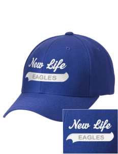 New Life Academy Eagles Embroidered Wool Adjustable Cap