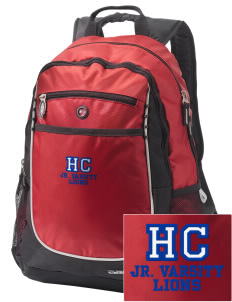 Hilltop Christian School Lions Embroidered OGIO Carbon Backpack
