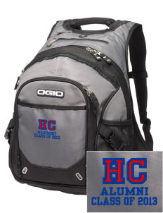 Hilltop Christian School Lions Embroidered OGIO Fugitive Backpack