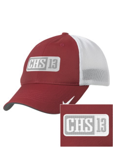 Christian Senior High School Patriots Embroidered Nike Golf Mesh Back Cap