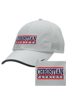 Christian Senior High School Patriots Embroidered Nike Dri-FIT Swoosh Perforated Cap