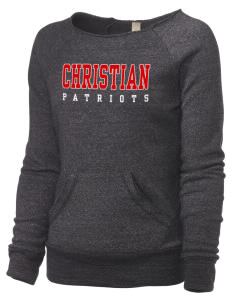 Christian Senior High School Patriots Alternative Women's Maniac Sweatshirt
