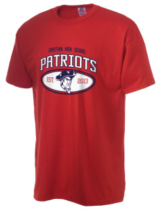 Christian Senior High School Patriots  Russell Men's NuBlend T-Shirt