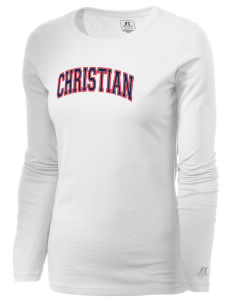 Christian Senior High School Patriots  Russell Women's Long Sleeve Campus T-Shirt