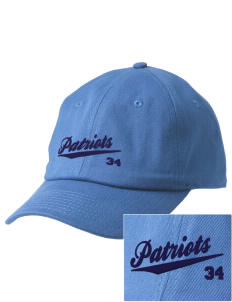 Christian Senior High School Patriots Embroidered Champion 6-Panel Cap
