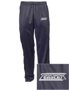 Century Christian School Eagles Embroidered Men's Tricot Track Pants
