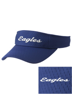 Century Christian School Eagles Embroidered Woven Cotton Visor