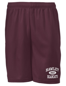 "Hawley Middle School Bearcats Men's Mesh Shorts, 7-1/2"" Inseam"