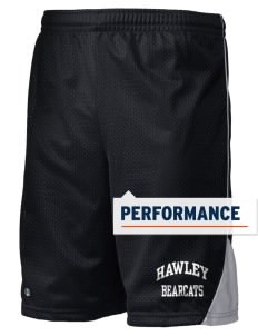 "Hawley Middle School Bearcats Holloway Men's Possession Performance Shorts, 9"" Inseam"