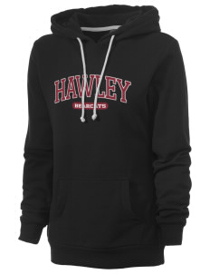 Hawley Middle School Bearcats Women's Core Fleece Hooded Sweatshirt