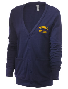 Menlo School Knights Unisex 5.6 oz Triblend Cardigan