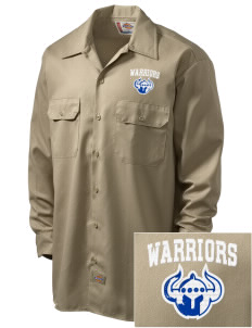 Riverview Christian School Warriors Embroidered Dickies Men's Long-Sleeve Workshirt