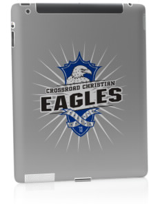 Crossroad Christian School Eagles Apple iPad 2 Skin