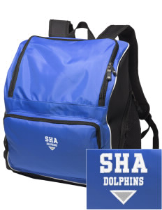 Spring Hill Advanced Elementary School Dolphins Embroidered Holloway Duffel Bag