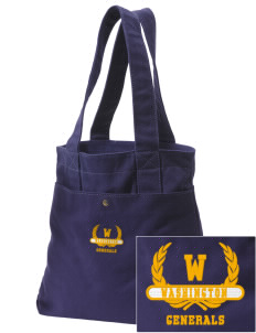 Washington School Generals Embroidered Alternative The Berkeley Tote
