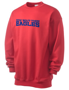 American Christian School Eagles Men's 7.8 oz Lightweight Crewneck Sweatshirt