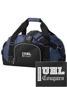 University Hills Lutheran School Cougars  Embroidered OGIO Big Dome Duffel Bag