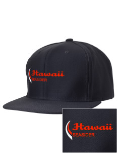 Hawaii Seasider Embroidered D-Series Cap