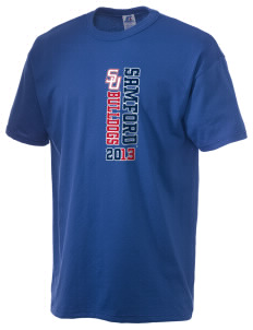 Samford University Bulldogs  Russell Men's NuBlend T-Shirt